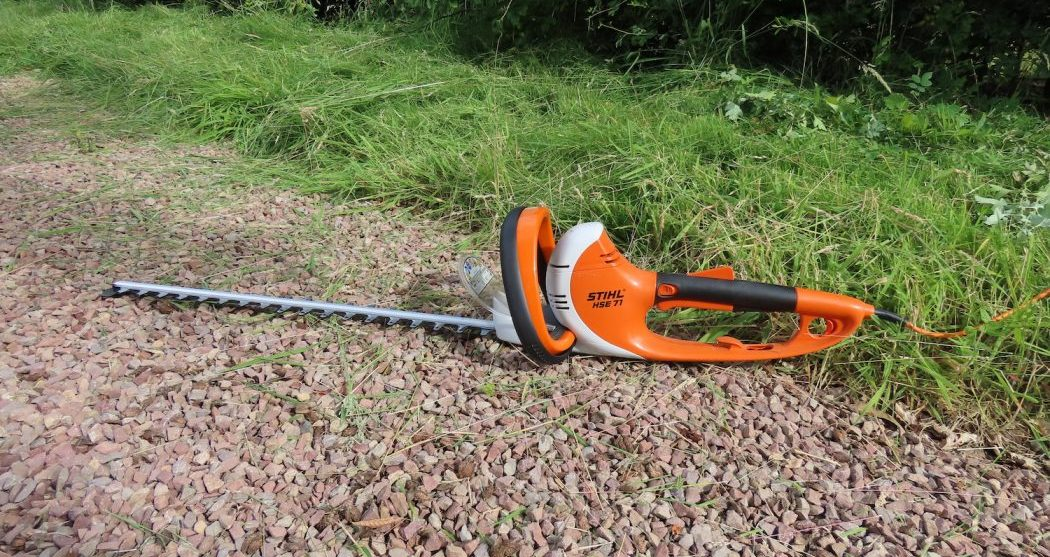 Stihl HSE 71 hedge trimmer