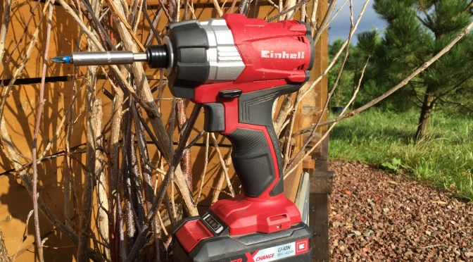 Impact driver – the product that revolutionised my DIY this year
