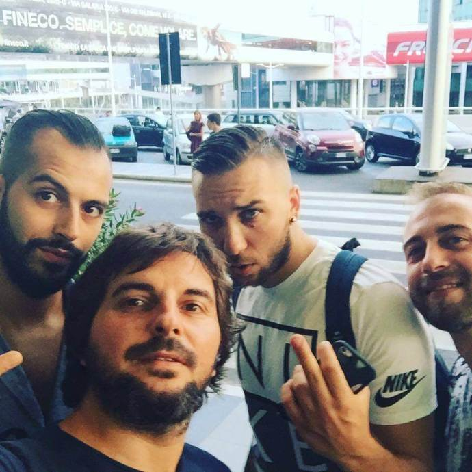 Tancredi, Francesco, Matías y Mario from Italy