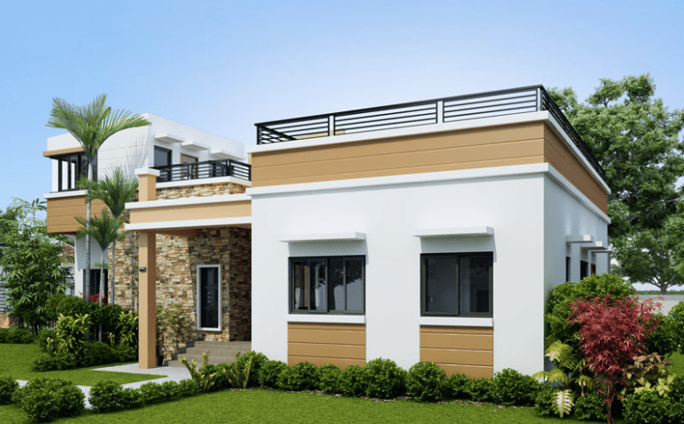 Nine Excellent Single Storey House Designs With Plan ...