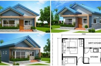 Three-Bedroom-House-Plan - Myhomemyzone