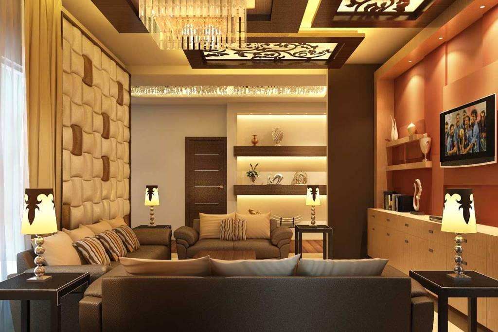 Modern interior design idea for living room
