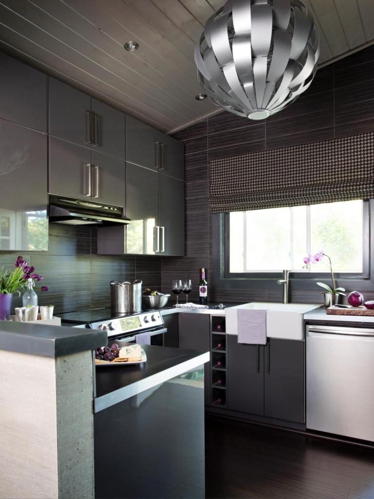 Modern house kitchen example
