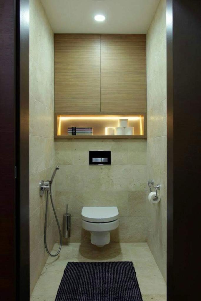 Small toilet design idea