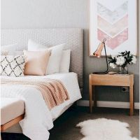 77 Blush Pink Bedroom Wall Decor Ideas That Aren't Too Girly