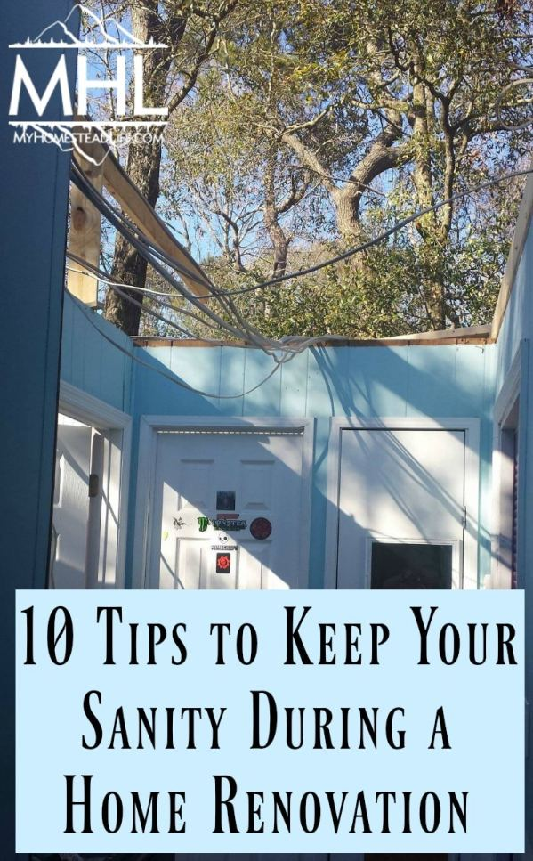 10 Tips to Keep Your Sanity During a Home Renovation and Construction- and possibly save your marriage