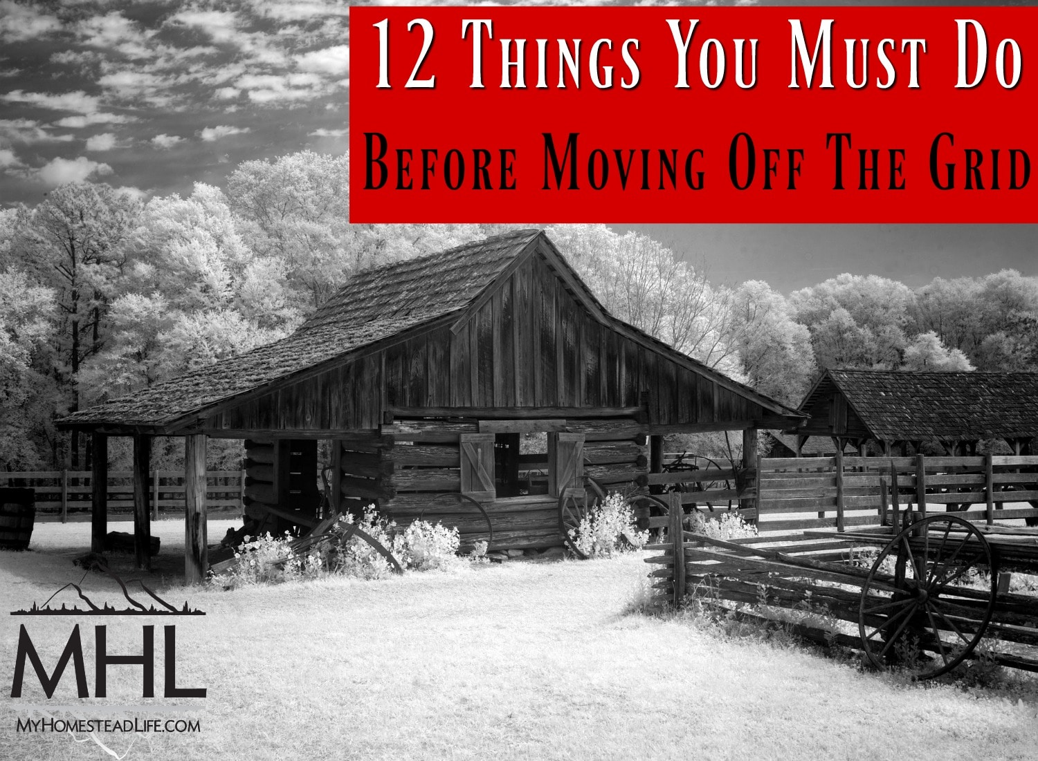 12 Things You Must Do Before Moving Off The Grid