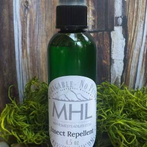Herb Infused All Natural Insect Repellent handcrafted by My Homestead Life