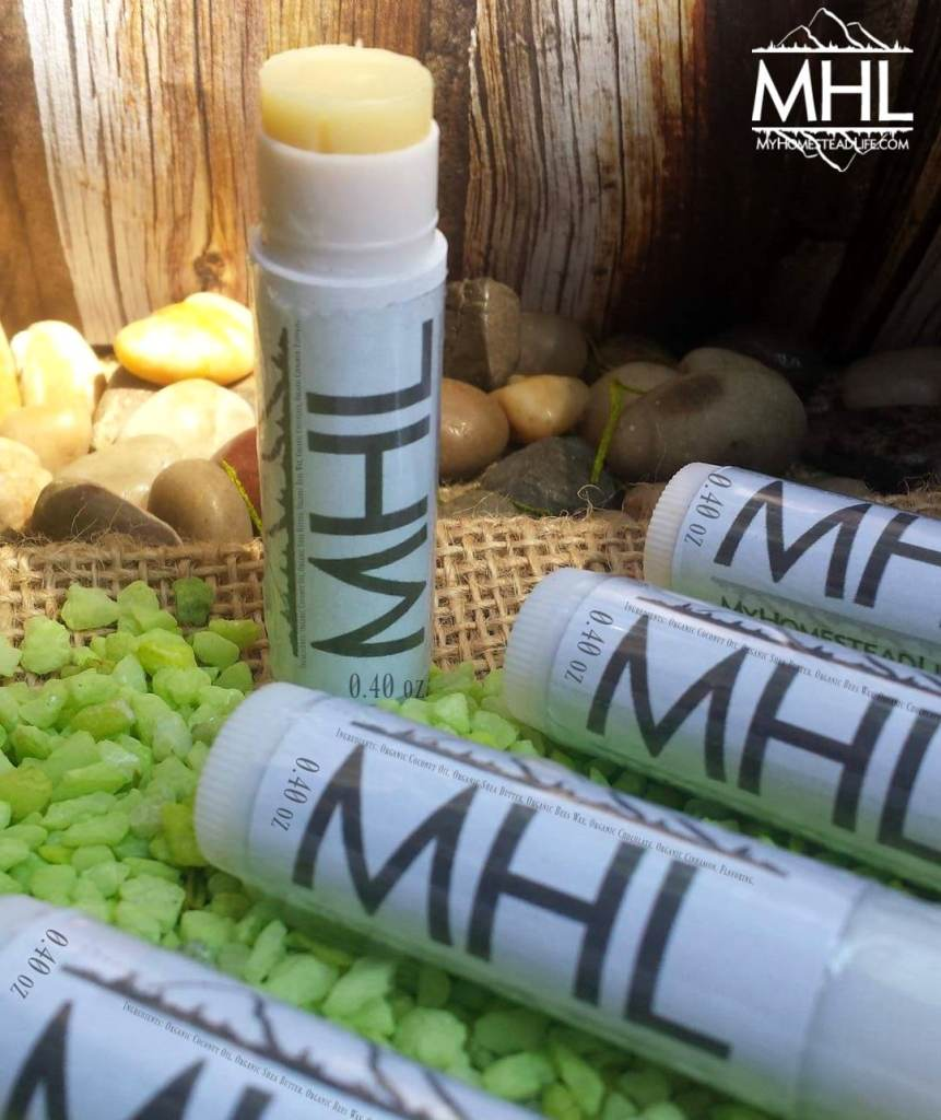 Handcrafted All-Natural Lip Balm by My Homestead Life