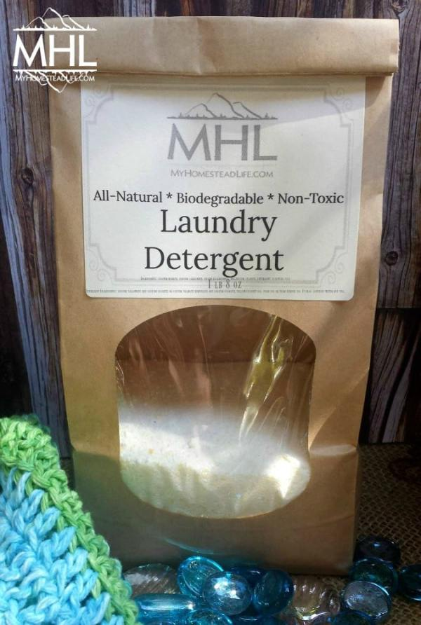 Handcrafted Laundry Detergent by My Homestead Life