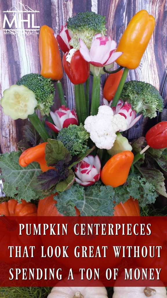 Pumpkin Centerpieces that Look Great Without Spending a Ton of Money