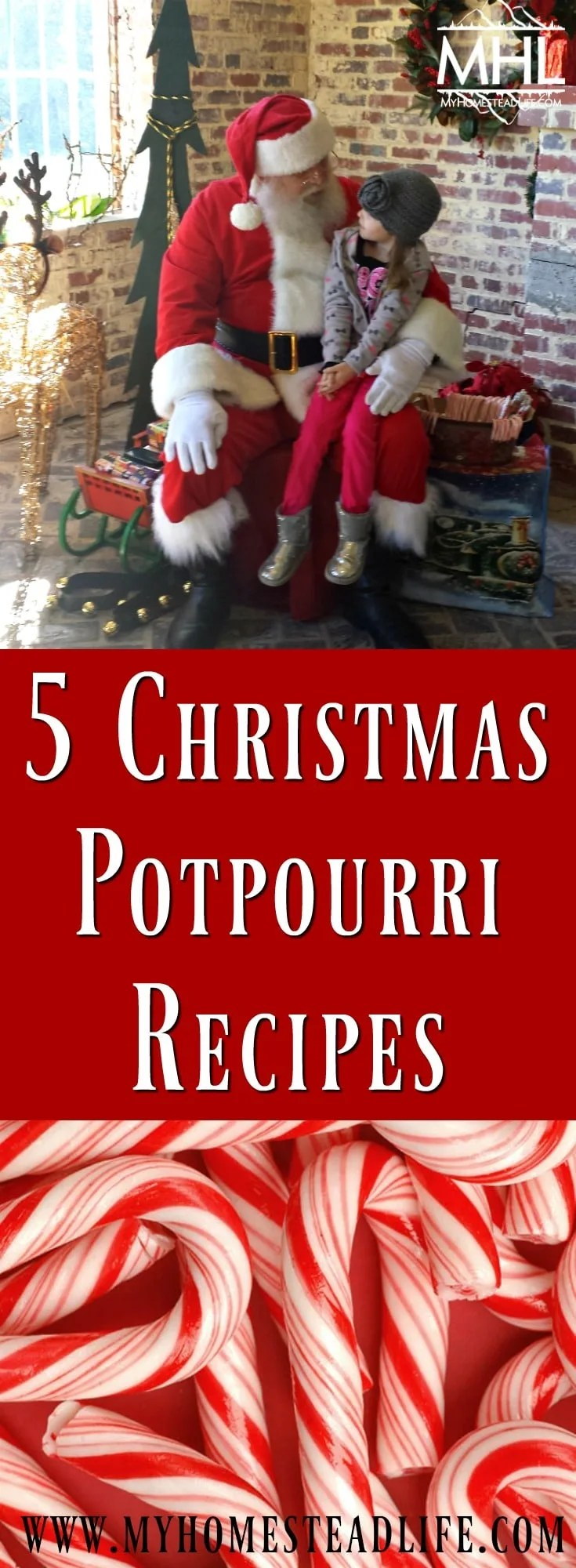 5 Christmas Potpourri Recipes- the wonderful smell of Christmas without all the work