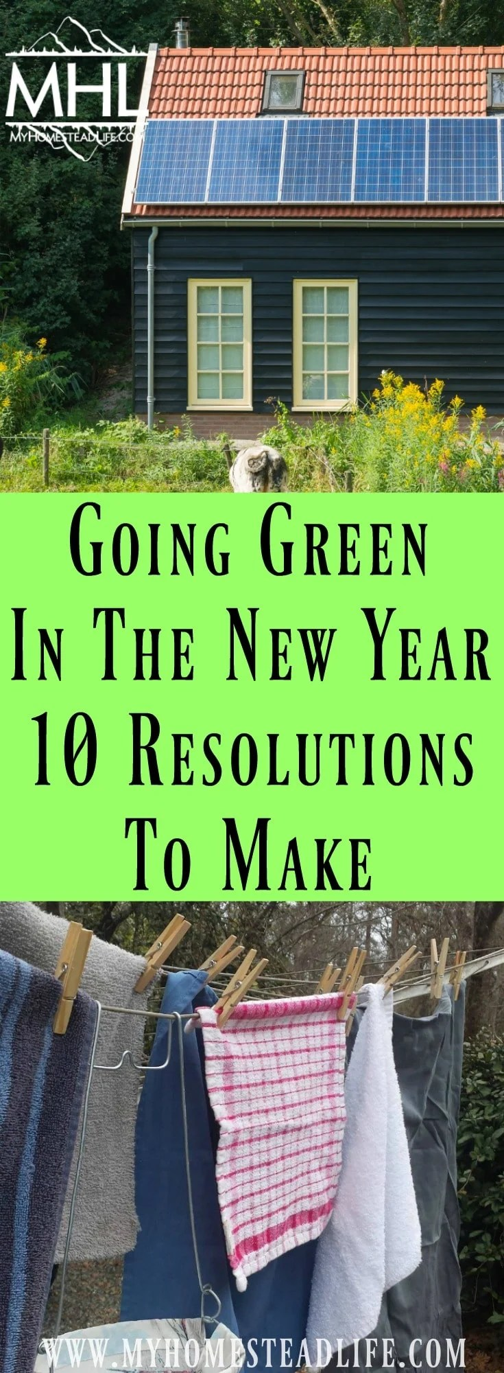 Going Green In The New Year - 10 Resolutions To Make