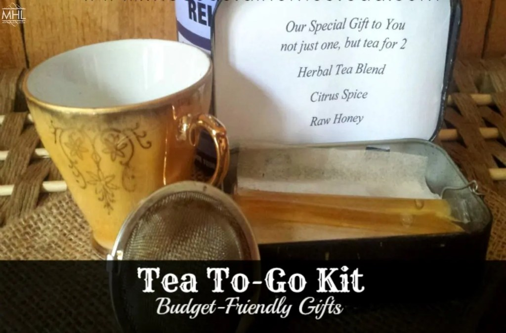 tea- tea gift ideas- herbal tea- DIY gifts