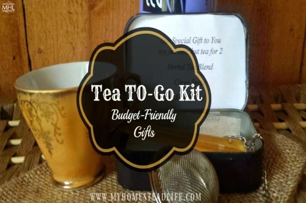 tea-tea gift- diy tea
