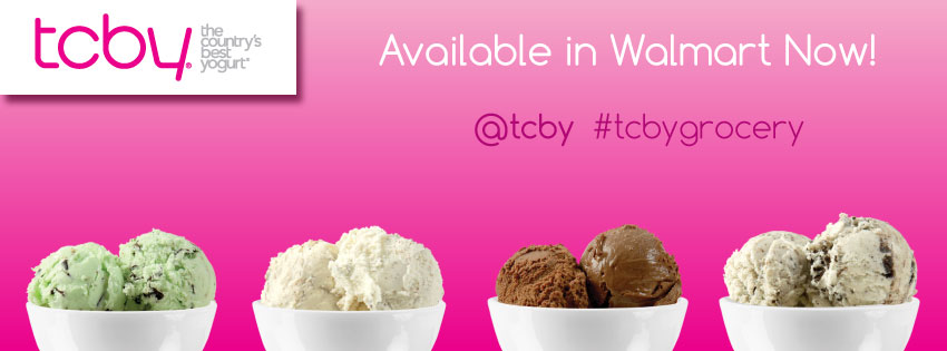 Treat Yourself: TCBY Now in Walmart!