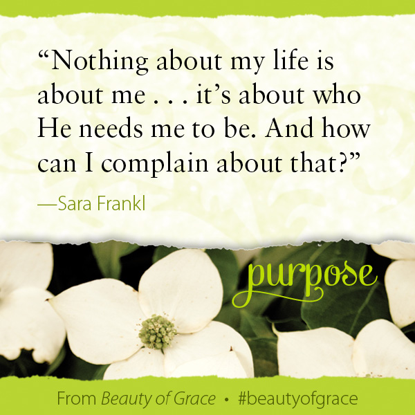 Sara Frankl The Beauty of Grace #beautyofgrace