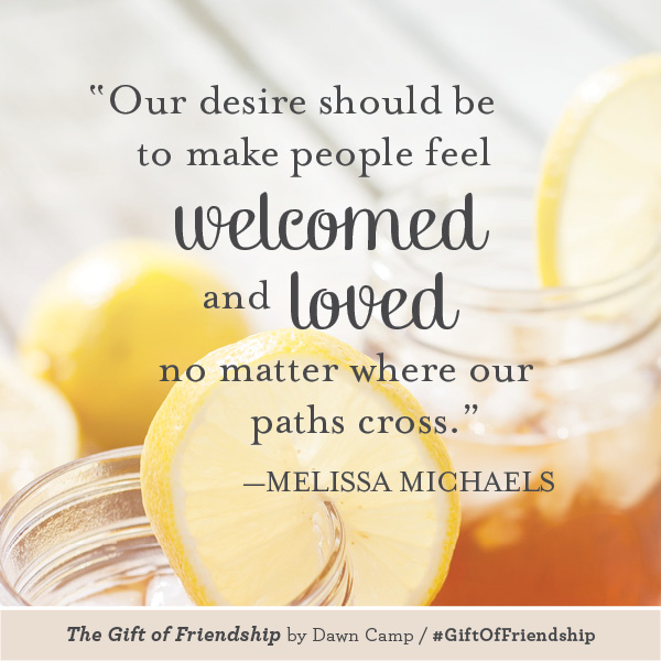 Melissa Michaels The Gift of Friendship #GiftofFriendship
