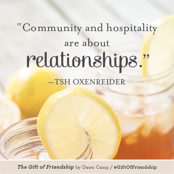 Tsh Oxenreider The Gift of Friendship #GiftofFriendship
