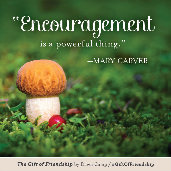Mary Carver The Gift of Friendship #GiftofFriendship