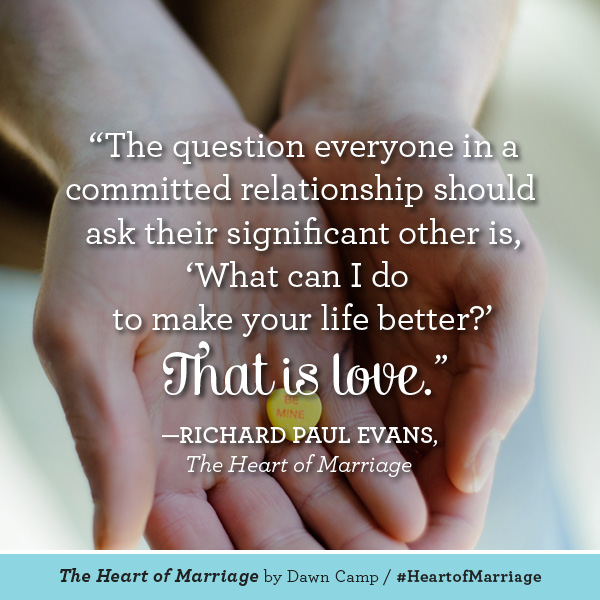 Richard Paul Evans The Heart of Marriage #HeartofMarriage