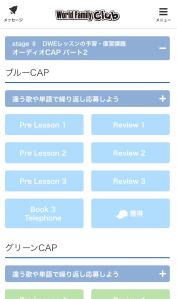 ブルーCAP画面