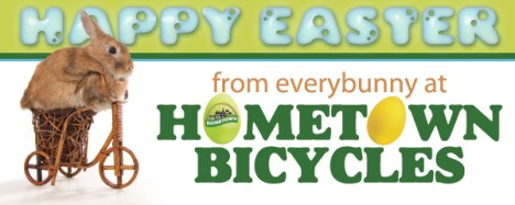Happy Easter from Hometown Bicycles