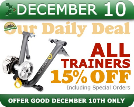 Hometown Bicycles Daily Deal December 10