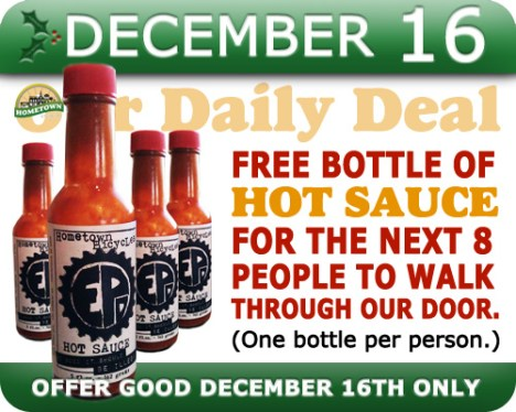 Hometown Bicycles Daily Deal December 16