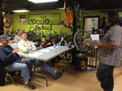 Hometown Bicycles clinics