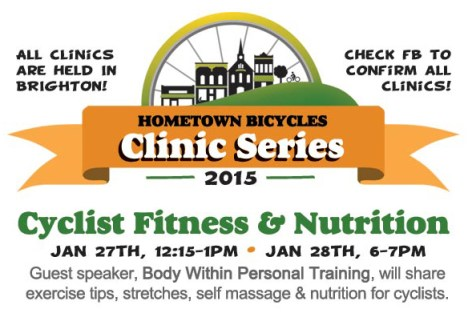 Cyclist Fitness & Nutrition Clinic