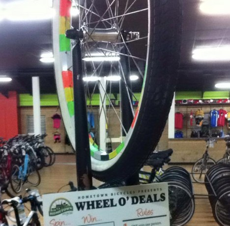 Hometown Bicycles Wheel O' Deals