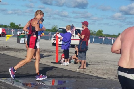 Hometown Bicycles' Amy Gluck at IRONMAN