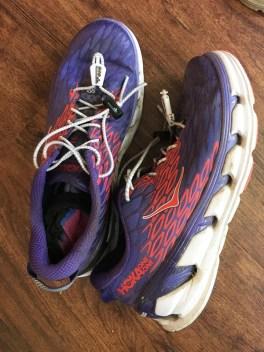 Amy Gluck's favorite Hoka running shoes