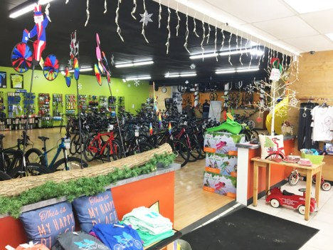 Hometown Bicycles bike shop gifts and novelties, bicycles, parts, and accessories