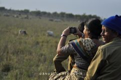 VISITORS IN THE NATURAL RHINO HABITAT