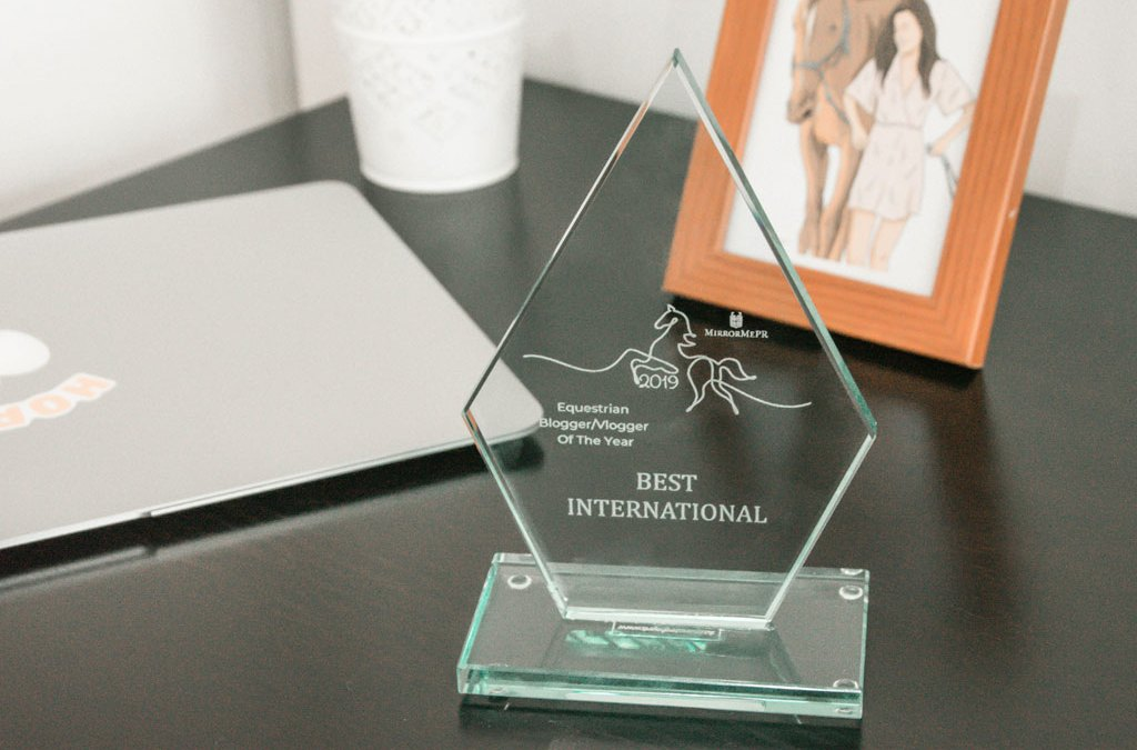 Mejor blog internacional en los Equestrian Blogger Awards