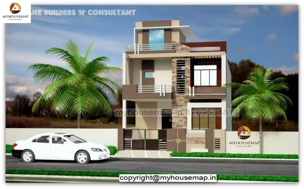 simple house elevation