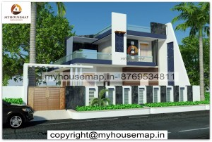 2 floor house elevation designs