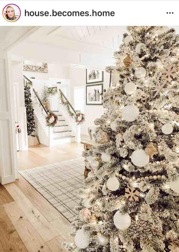 White Holiday Decor