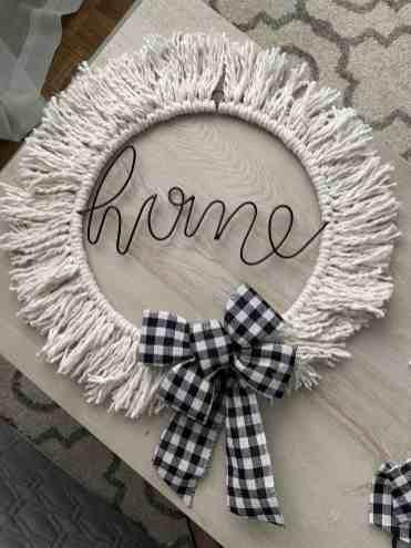 BoHo Inspired Spring Wreath