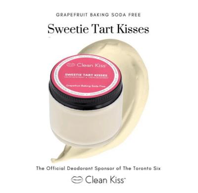 Clean Kiss Natural Deodorant