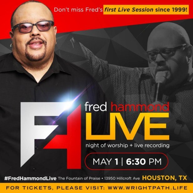Fred Hammond Recording - Houston