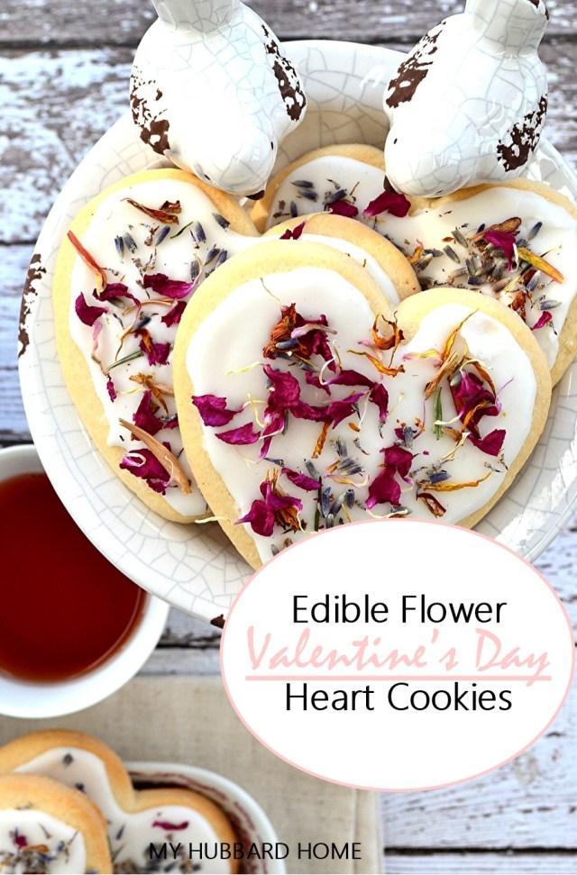 valentine day heart cookies