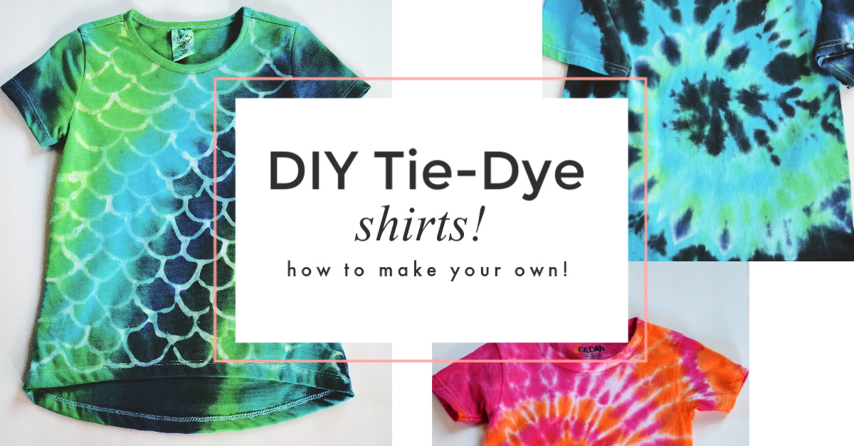 Diy Tie Dye Shirts How To Make Your Own My Humble Home And Garden