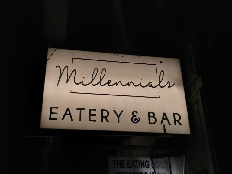 Millennials Eatery & Bar, Fort