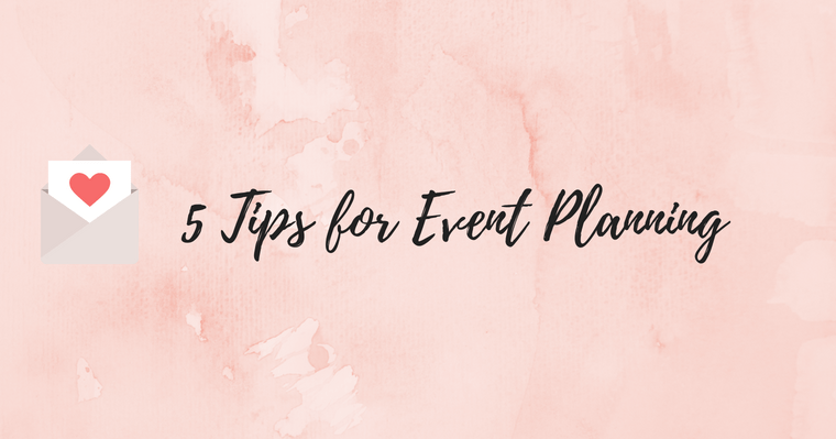 Tips For Event Planning