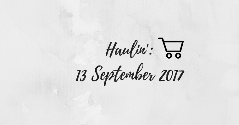 Weekly Grocery Haul: 13 September 2017 & Milestones