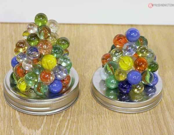 Marble Tea Lights