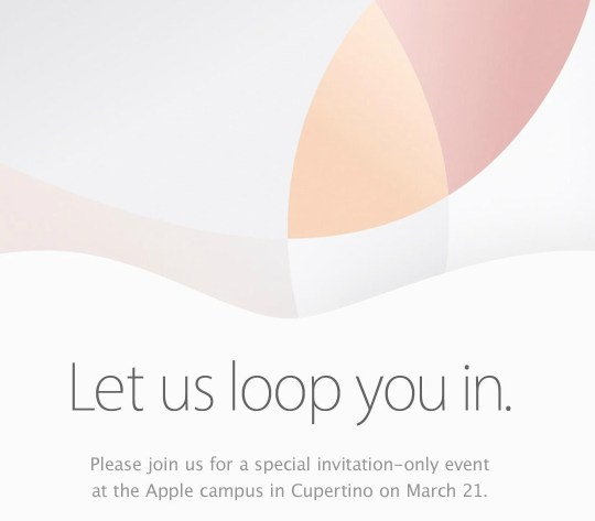 Apple Let Us Loop You In - Media Event on March 21